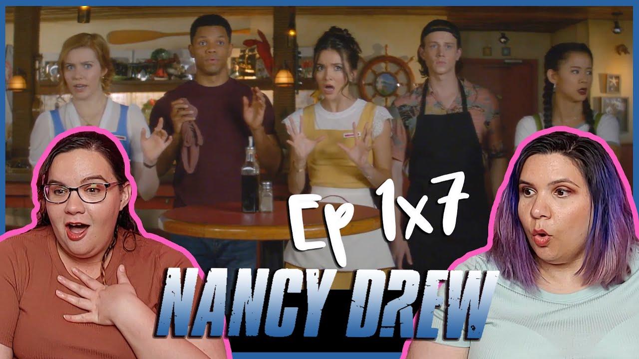 "Nancy Drew 1x07 Reaction ""The Tale of the Fallen Sea Queen"""