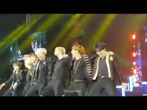 BTS - Dope + Boyz with Fun + Rise of Bangtan(Epilogue in Manila)fancam