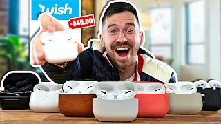 I Bought All The Fake AirPod Pros On Wish..