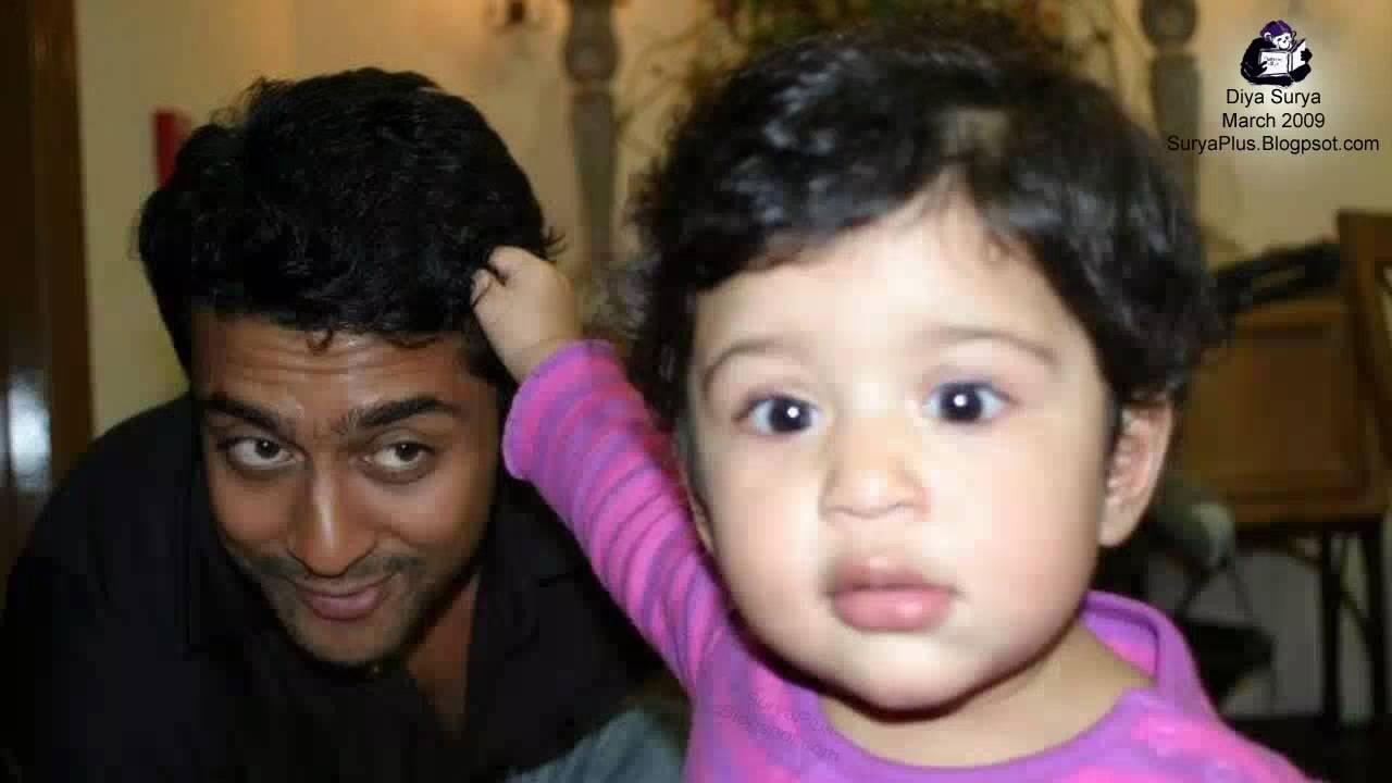Download HD Photo album (2009) of Surya Jyothika and Daughter Diya
