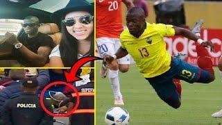 لاعب الإكوادور يتظاهر بإصابة خطيرة للهروب من الشرطة التي تطارده بسبب زوجته !