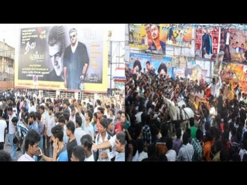 Image result for ajith and rajini fans fight