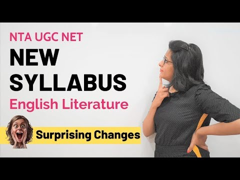 What is the Real Syllabus of UGC NET English Literature?