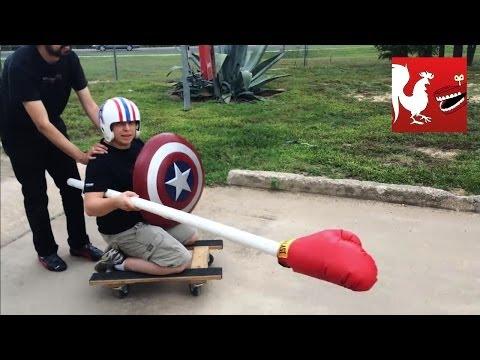 RT Life - PVC Pipe Jousting
