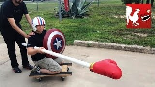 RT Life - PVC Pipe Jousting