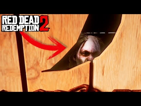 RED DEAD 2 - EL EXORCISMO DE LA CHICA LOCA!! 😰😱 (Easter Egg) - Nexxuz