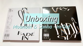 UNBOXING Astro (아스트로) Moonbin & Sanha - In-Out