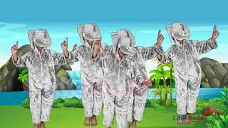 Ek Mota Hathi Jhoom ke Chala Nursery Rhymes