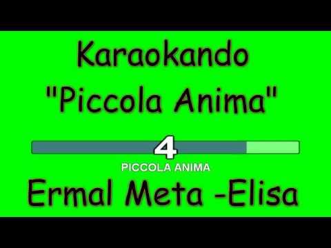 Karaoke Italiano - Piccola Anima - Ermal Meta - Elisa ( Testo )