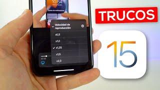 20 TRUCOS OCULTOS de iOS 15 que tienes que SABER