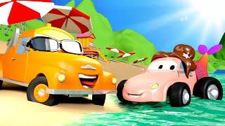 Синди - русалка - Малярная Мастерская Тома в Автомобильный Город 🎨 детский мультфильм