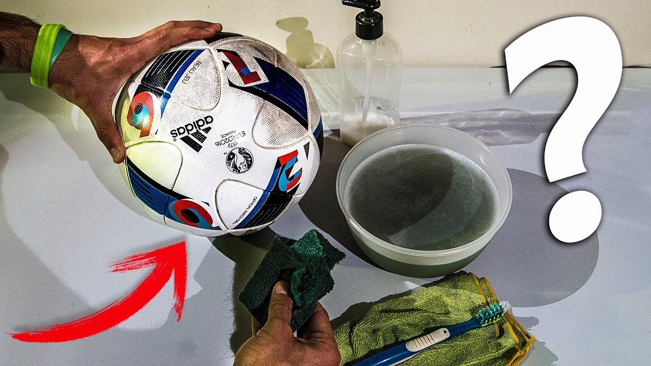 Como limpiar tu bal n de f tbol dejar como nuevo - Como dejar el parquet como nuevo ...