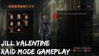 Resident Evil Revelations 2 Jill Raid Mode Gameplay