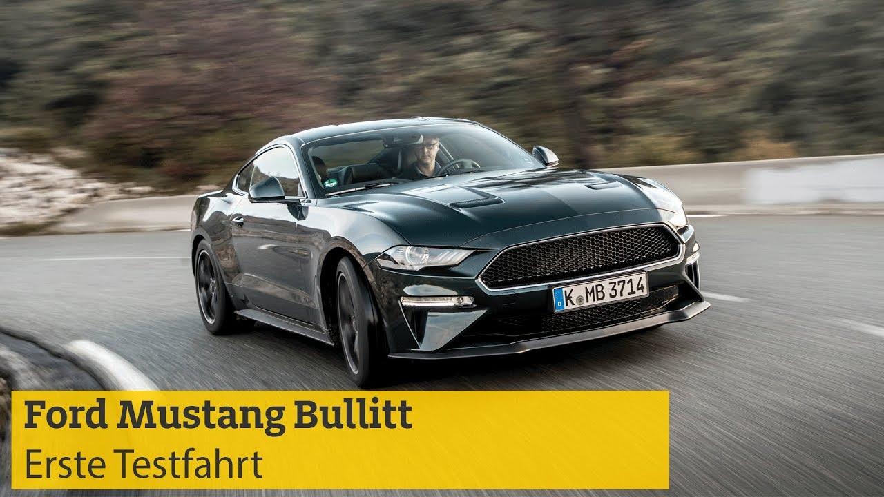 Ford Mustang Bullitt Technische Daten Hintergründe Preise Adac