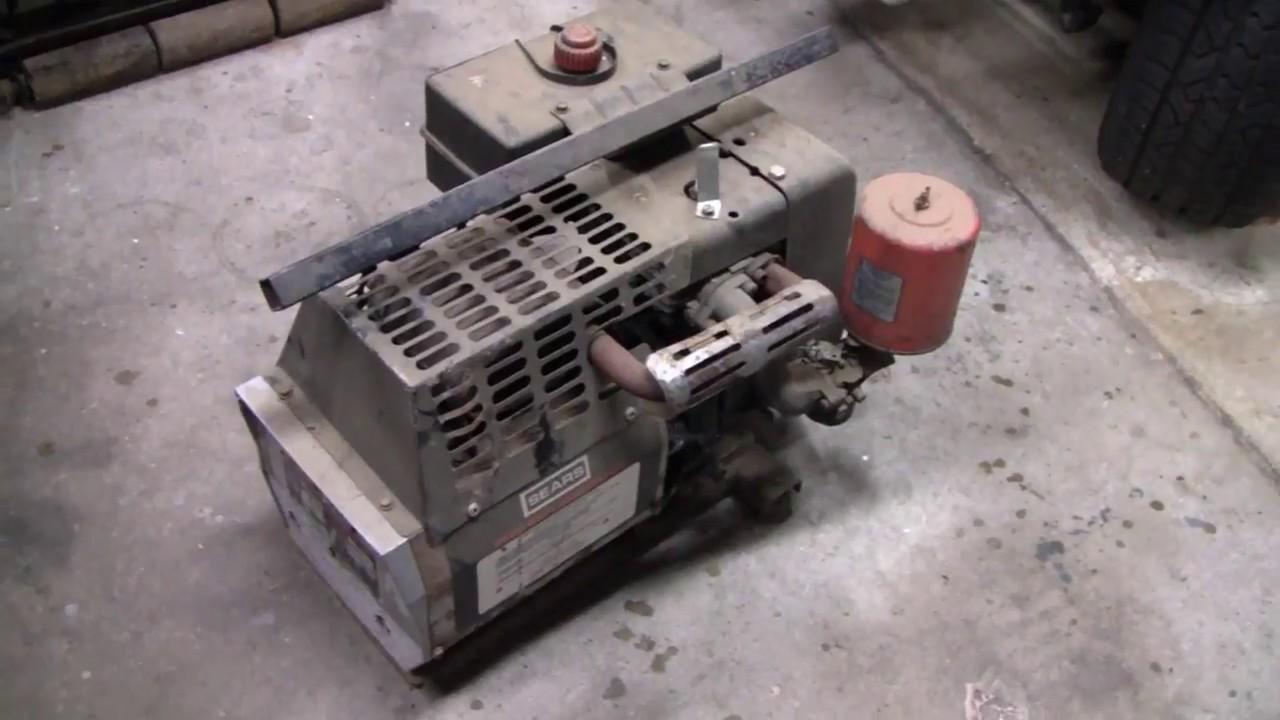 sears generator repair (part 1)