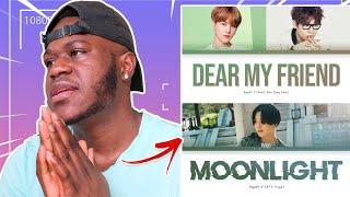 Baixar Agust D Moonlight & Dear my friend (feat. Kim Jong Wan) Lyrics REACTION