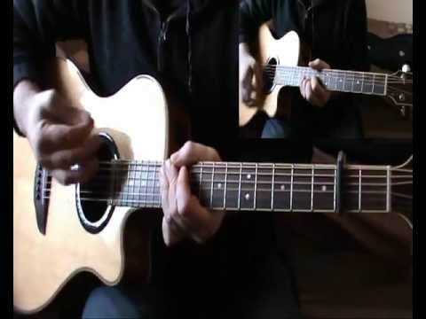The Everly Brothers - Bye Bye Love ( Both Guitars ) DGDGBD Tuning & Standard Tuning