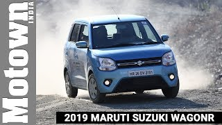 2019 Maruti Suzuki WagonR | First Drive Review | Motown India