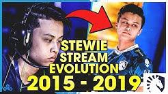 STEWIE2K'S COMPLETE STREAM EVOLUTION (INSANE FRAGS & CLUTCHES)