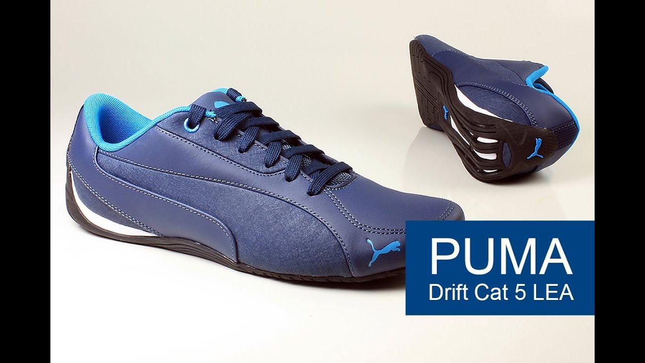 Puma Drift Cat 5 LEA обзор - YouTube 129999966