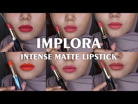 review-dan-swatches-implora-intense-matte-lipstick-long-lasting-finish-semua-warna-15rban