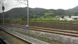 韓国 全羅線線 南原-全州駅間 セマウル1120号 上り 走行2