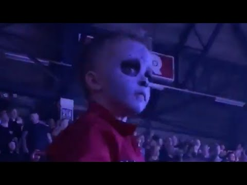 Adorable 5 Year Old Air Drumming At Slipknot Show, Jay Weinberg Responds