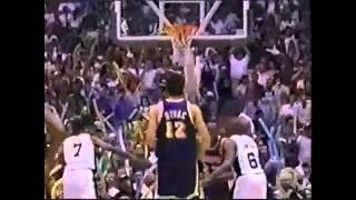 1995 NBA Playoffs LAL v SAS G5 (4th Qtr-OT) Pt.3