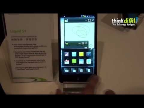 Acer Liquid S1 phablet with Float UI