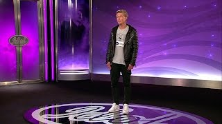 Jonathan Larsson - Isn't She Lovely (hela audition) - Idol Sverige (TV4)
