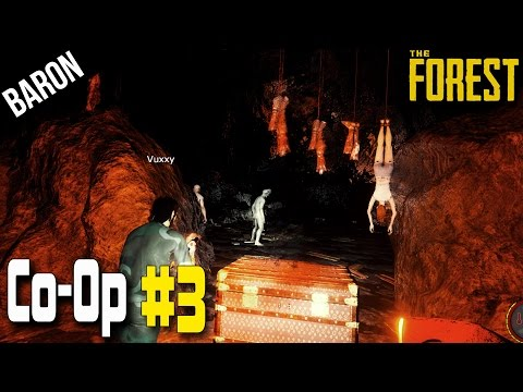 The Forest Multiplayer Co-op Gameplay - Exploring the Caves!