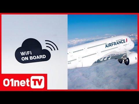 """""""En 2020, tous les avions AirFrance seront équipés en Wifi"""" (01LIVE Vivatech)"""