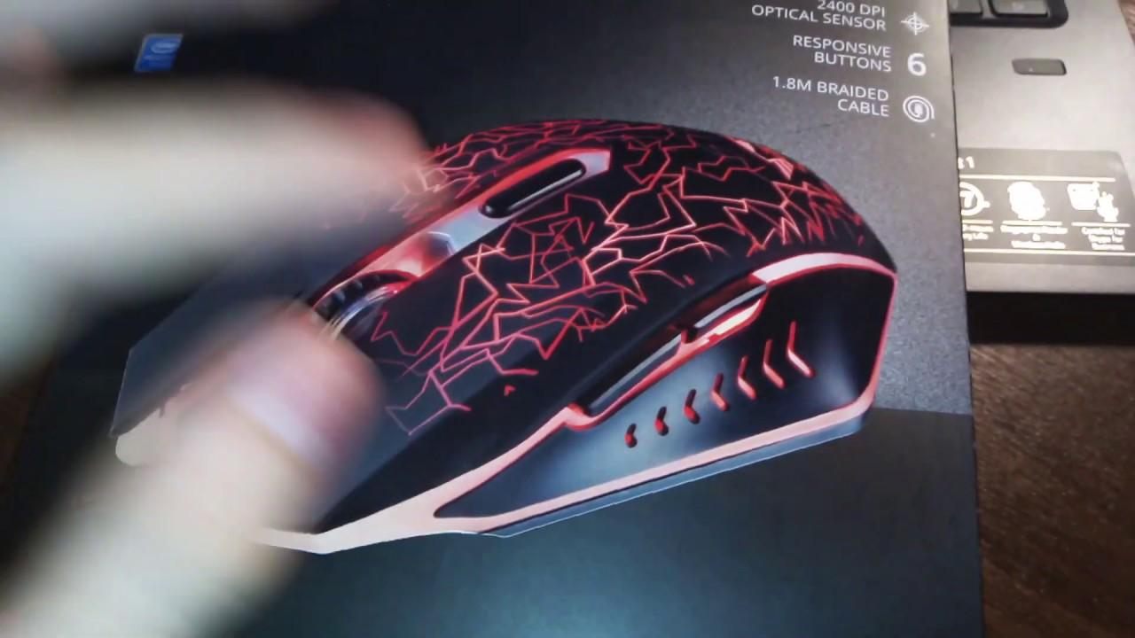 404cc62d4ab Игровая мышка Trust GXT 105 IZZA - YouTube