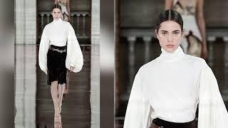 Victoria Beckham fashion show fall winter 20 21 Показ мод Виктория Бекхэм осень зима 20 21