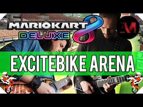 Mario Kart Deluxe 8 - Excitebike Arena...
