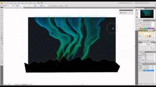 Create a Dazzling Aurora Borealis - Part 2