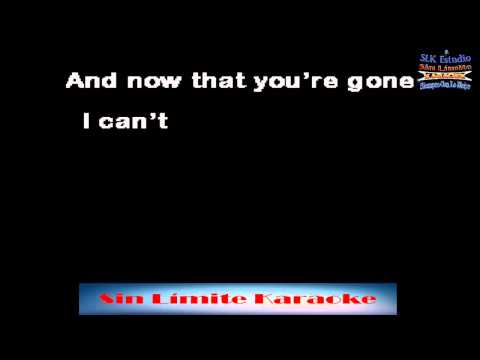 Can't cry hard enough - Williams Brothers - Karaoke Full