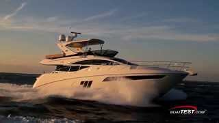 Sea Ray L590 Fly Test 2015- By BoatTest.com