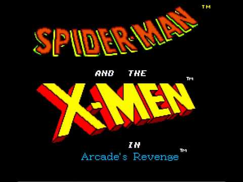 Spider-Man and X-Men in Arcade