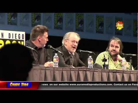 """Steven Speilberg & Peter Jackson at San Diego Comic Con """"How to be a Movie Director and Filmmaker"""""""""""