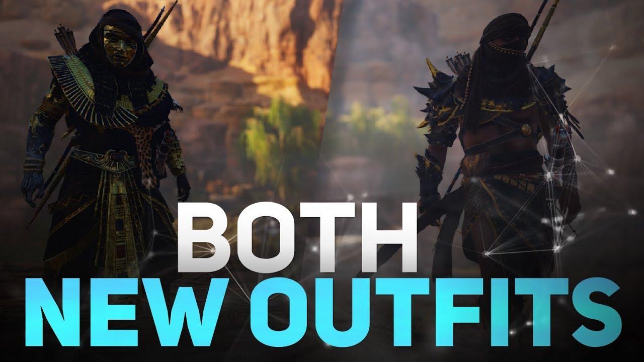 Assassin S Creed Origins Curse Of The Pharaohs Dlc Both New
