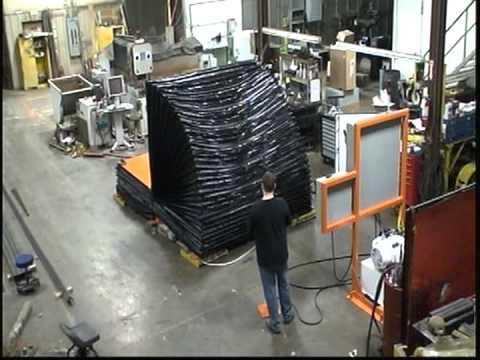 Titan Mold Upender 2983: 88,000 lb. Capacity Flat Deck