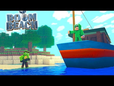 BOOM BEACH CHALLENGE - HELICOPTER DOWN w/ Little Lizard