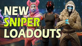 Sniper Hero Loadouts in Fortnite 8.0 Freezing Snipes, Crit and Fire Rate