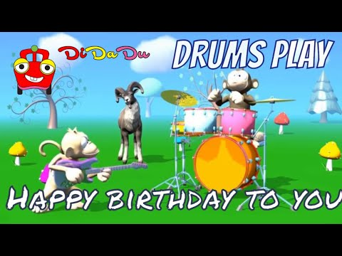 Drums Play | Happy Birthday To You | Didadutv
