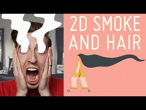 2D Smoke or Hair In After Effects