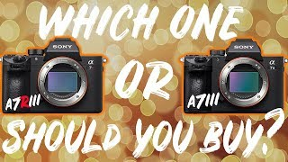 SONY A7III VS ARIII: WHICH ONE SHOULD YOU BUY?