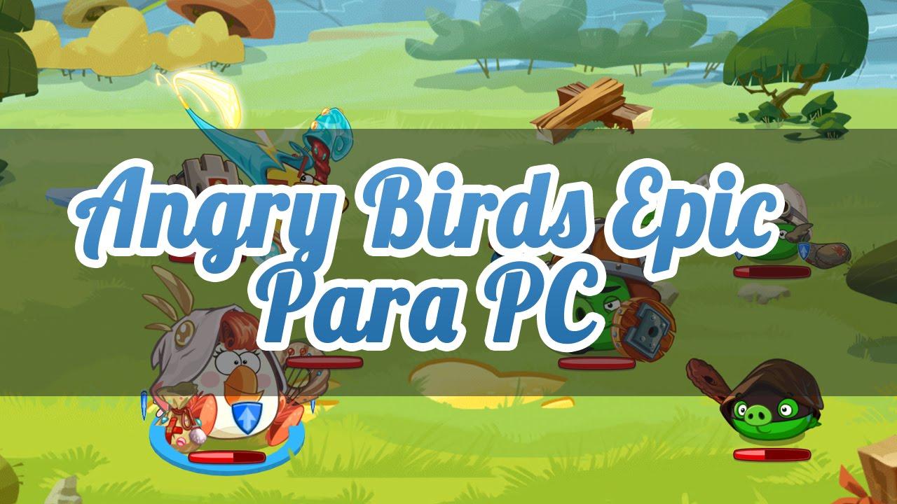 descargar angry birds epic para pc full