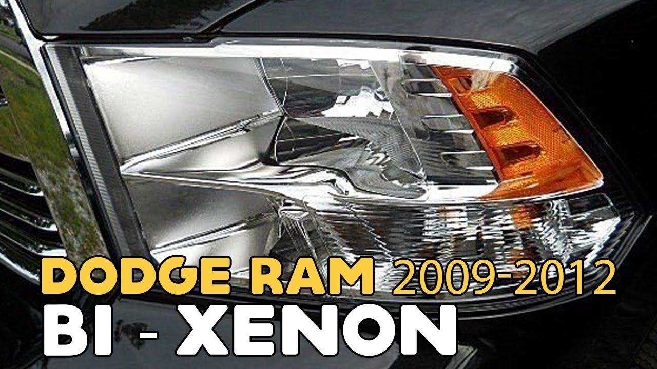 Super Dodge Ram 2009-2012, HID Bi-xenon projectors tutorial - YouTube TC-37