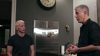 Anthony Bourdain and Anderson Cooper talk Budapest